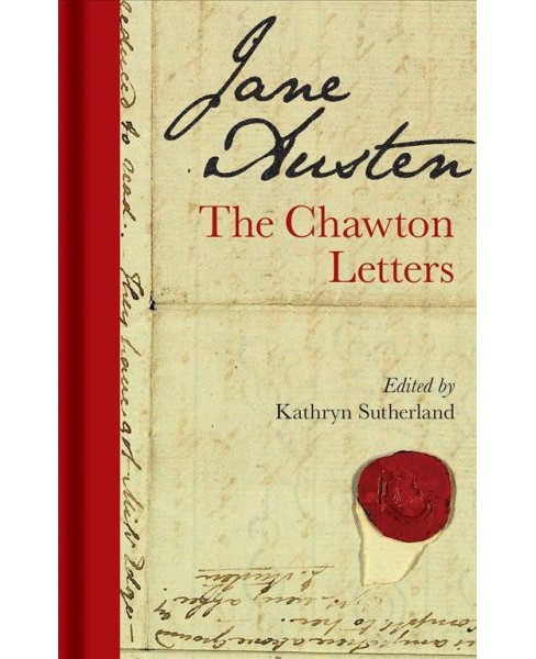 Jane Austen : The Chawton Letters -  (Hardcover) - image 1 of 1