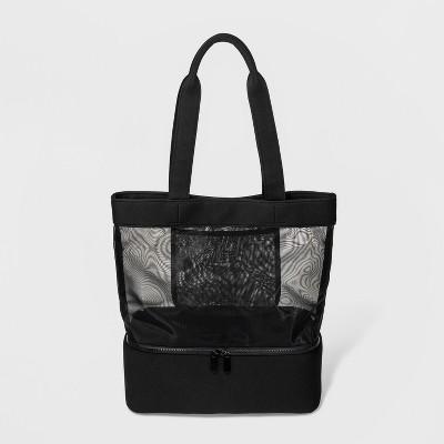 Neoprene Mesh Tote Handbag - Shade & Shore™ Black