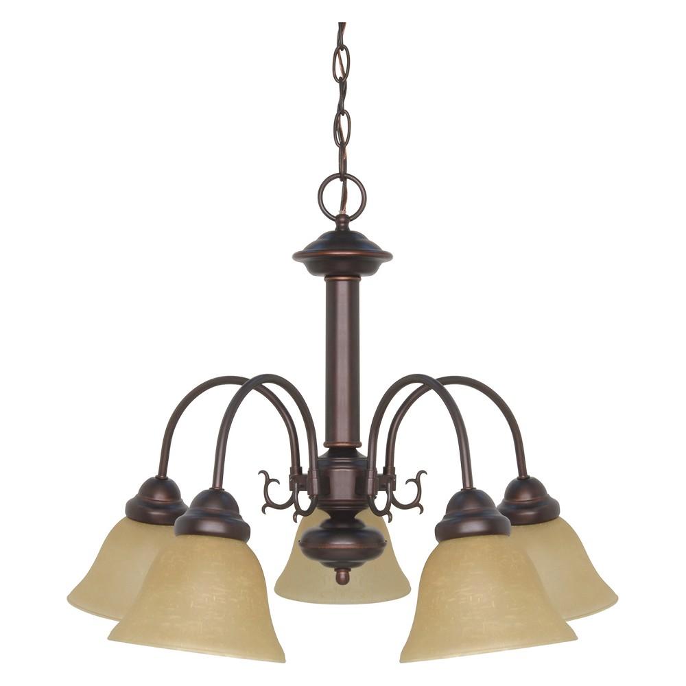 Image of Ceiling Lights Chandelier Mahogany Bronze - Aurora Lighting