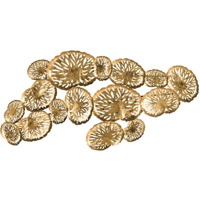 Coral Plate Wall Décor - Gold - Safavieh
