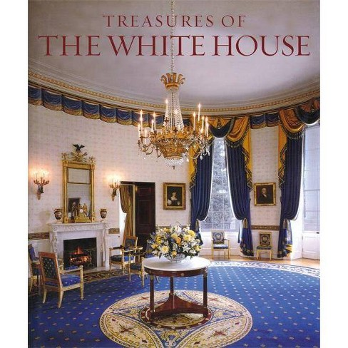Treasures of the White House - (Tiny Folio) by  Betty C Monkman (Hardcover) - image 1 of 1