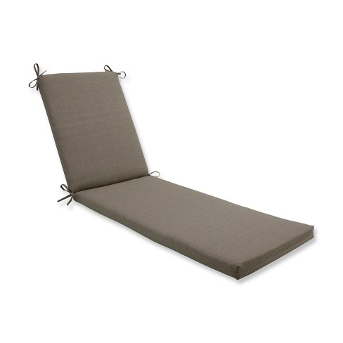 Indoor/Outdoor Monti Chino Tan Chaise Lounge Cushion - Pillow Perfect - image 1 of 1