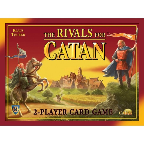 The Rivals for Catan Strategy Card Game - image 1 of 1