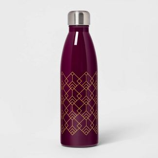 17.5oz Double Wall Stainless Steel Bottle Magenta - Room Essentials™