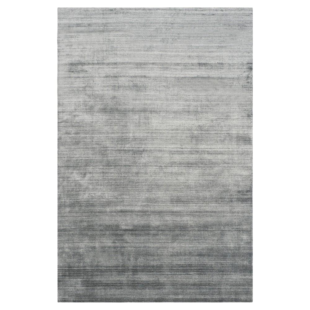 Dark Gray Solid Woven Area Rug - (6'X9') - Safavieh