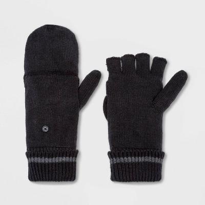 Men's Knit Gloves - Goodfellow & Co™ Black One Size