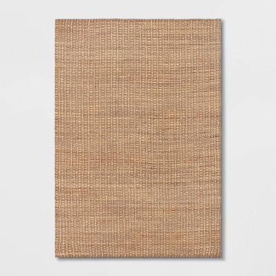 7'X10' Basket Weave Woven Area Rug - Threshold™