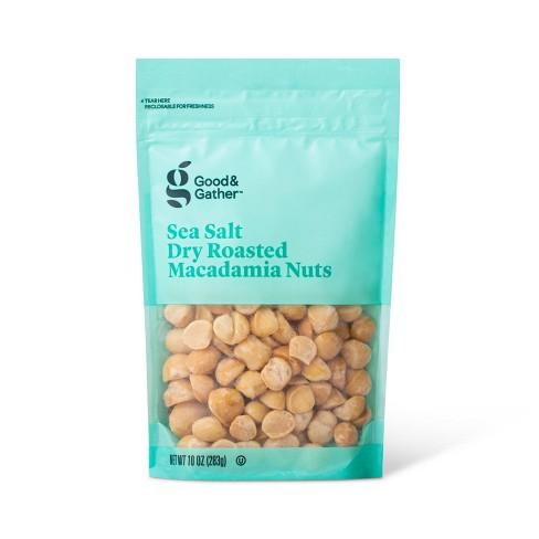 Sea Salt Roasted Macadamia Nuts - 10oz - Good & Gather™ - image 1 of 3