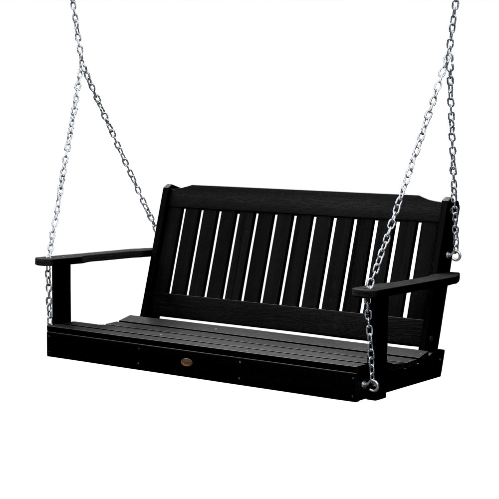 Image of Lehigh Porch Swing 4ft Black - Highwood