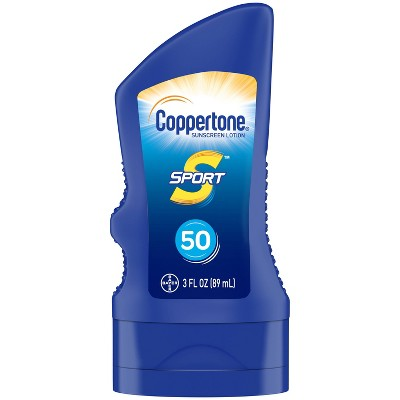 Coppertone Sport Sunscreen Lotion - SPF 50 - 3 fl oz
