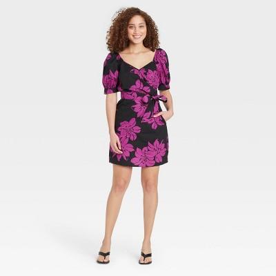 Women's Balloon Short Sleeve Dress - Who What Wear™