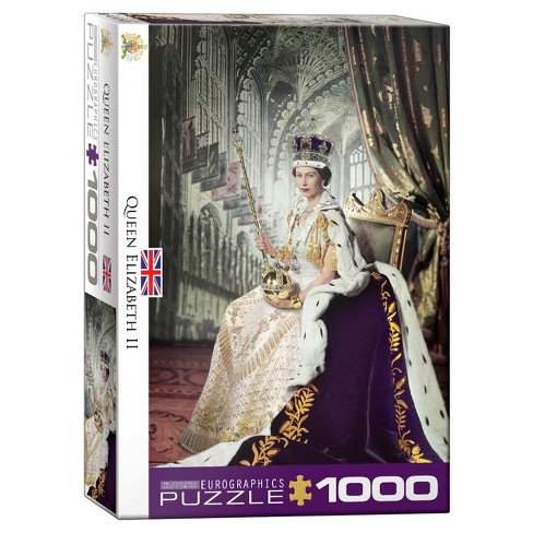 Queen Elizabeth II 1000pc Puzzle - image 1 of 1