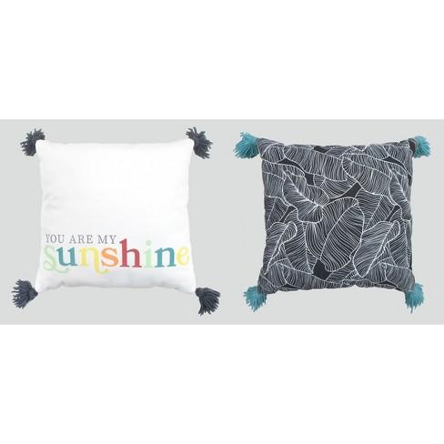 2pk Throw Pillows - Bullseye's Playground™ - image 1 of 1