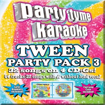 party tyme karaoke pop mega pack 3
