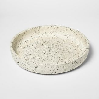 Decorative Tray Speckled - White - Threshold™