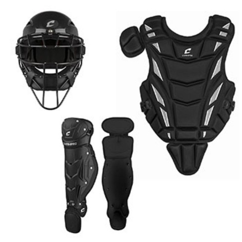 Champro Triple Play Youth Catchers Set Ages 6-9 Black - image 1 of 1