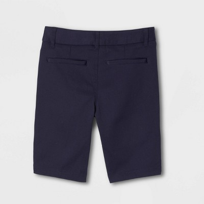 French Young Womans' Uniform Chino Shorts - Navy