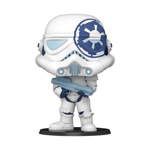 Funko POP! Jumbo: Star Wars - Stormtrooper (Artist Series) (Target Exclusive) - image 1 of 2