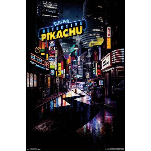 """34""""x23"""" Detective Pikachu One Sheet Unframed Wall Poster Print - Trends International - image 1 of 2"""