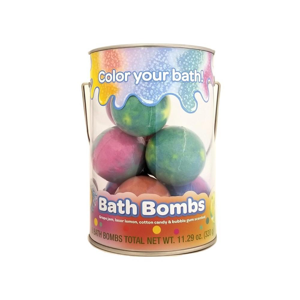 Image of Crayola Color Your Bath Bucket Bath Bomb - 11.29oz/8ct