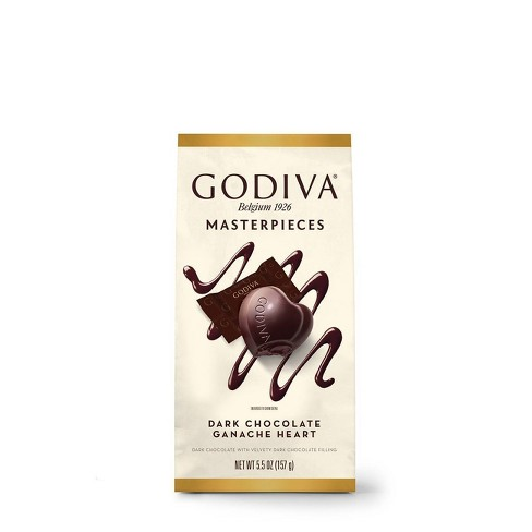 Godiva Masterpieces Dark Chocolate Ganache Heart - 5.5oz - image 1 of 4