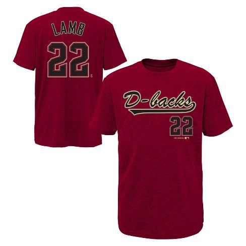 MLB Boys' Short Sleeve Crew Neck Name & Number Jersey T-Shirt - image 1 of 3