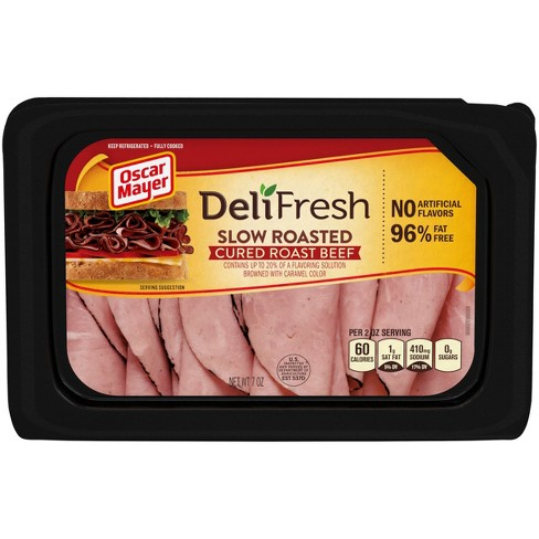 Oscar Mayer Deli Fresh Slow Roasted Cured Beef - 7oz - image 1 of 3