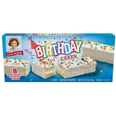Little Debbie Birthday Cakes - 12.39oz