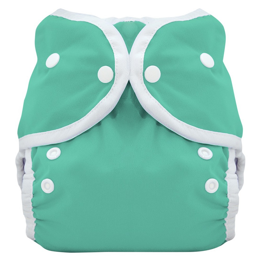 THIRSTIES BABY Snap Duo Wrap, Moss (Green) - Size One, In...