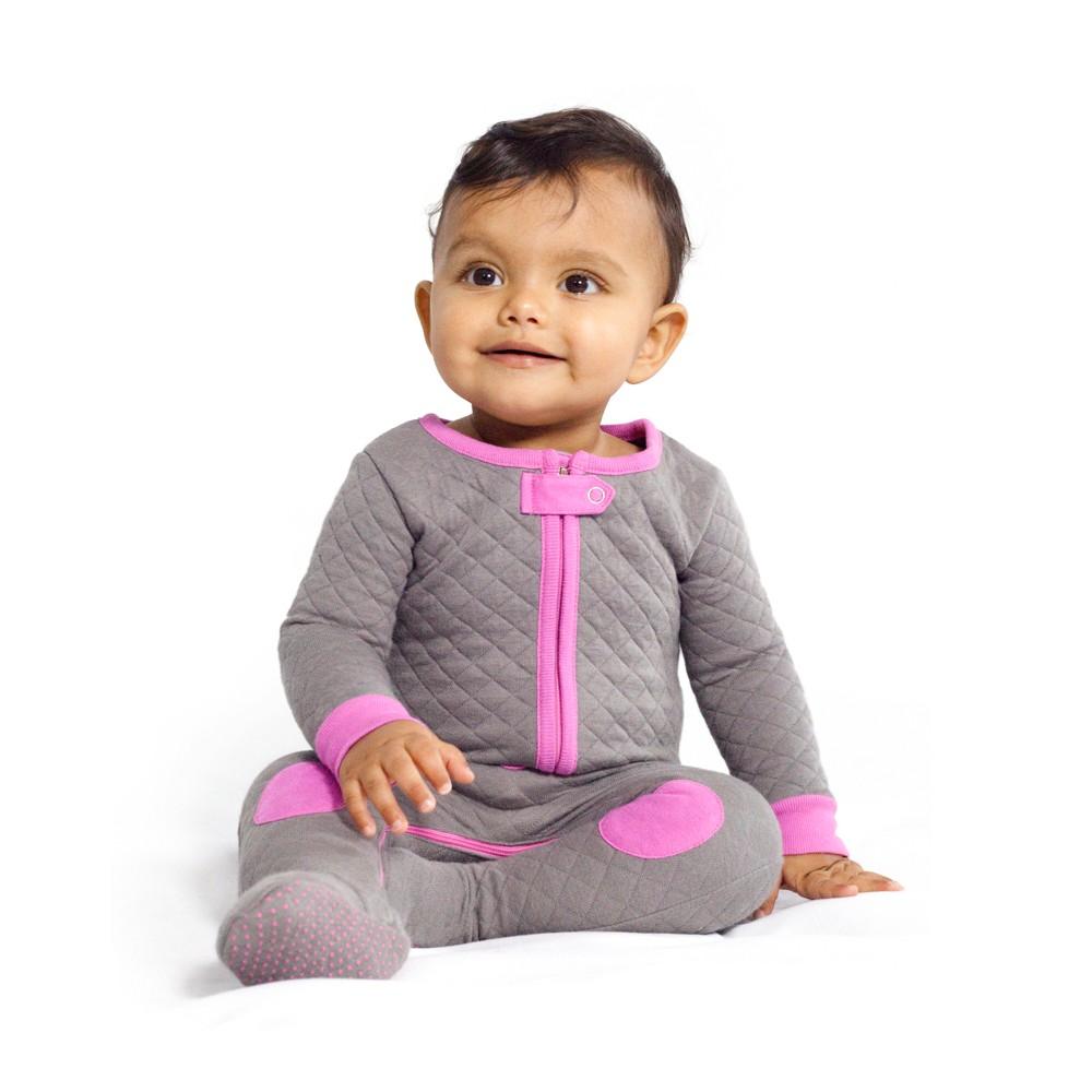 Swaddle Wrap Baby Deedee Slate Hot Pink 3 6 Months