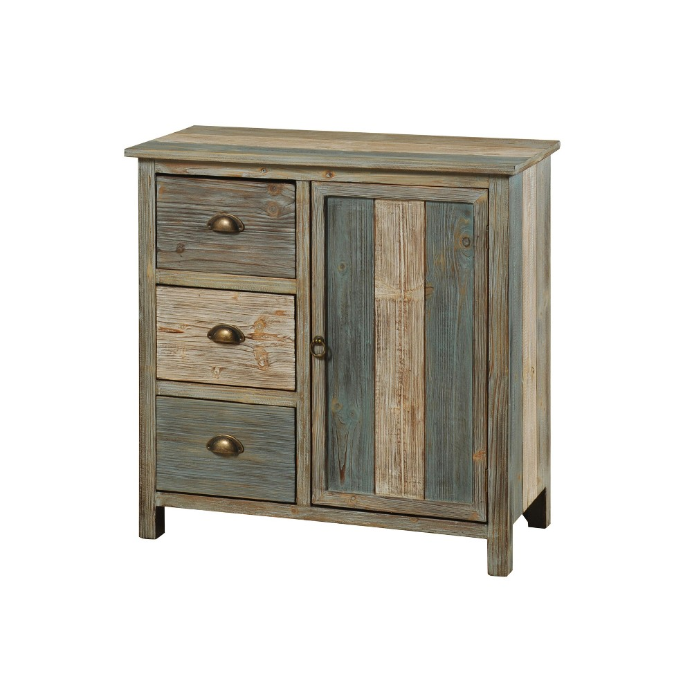 3 Drawer Single Door Sanibel Cabinet Stylecraft