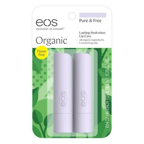 eos Organic Lip Balm - Pure & Free - 0.14oz/2pk - image 1 of 4