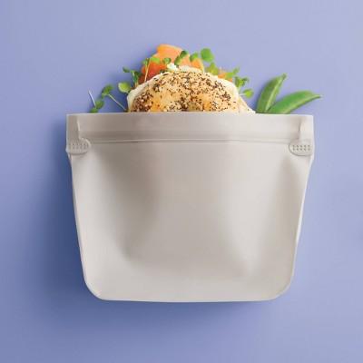 2pk PEVA Reusable Sandwich Bag Sandstorm - Room Essentials™