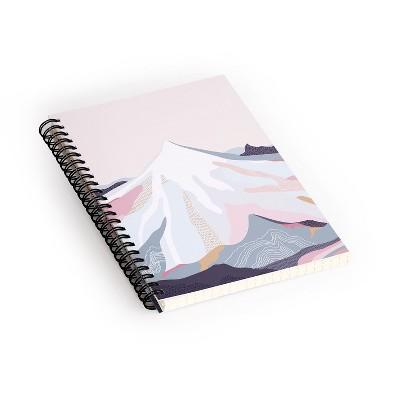 Iveta Abolina Off The Grid Purple Spiral Notebook - Deny Designs