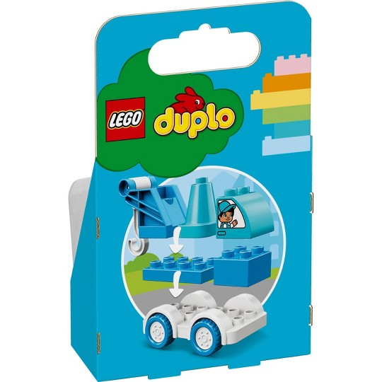 LEGO DUPLO My First Tow Truck 10918 Educational Toddler Toy image number null
