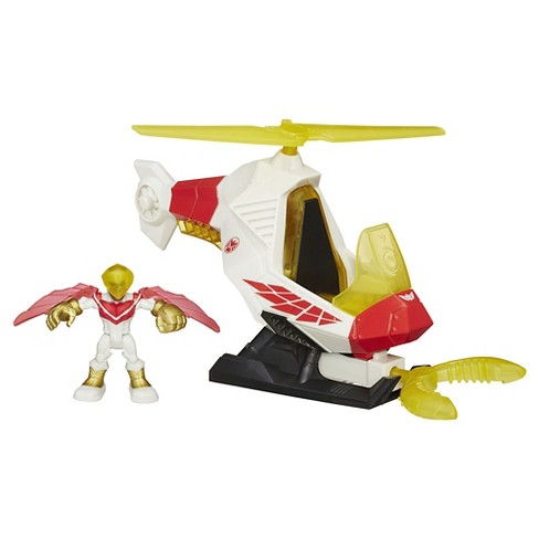 Playskool Heroes Marvel Super Hero Adventures Talon Copter With Marvel's Falcon - image 1 of 8