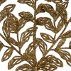 "Vickerman 22"" Gold Bipinnate Glitter Leaf Artificial Christmas Spray, 12 per Bag - image 3 of 4"