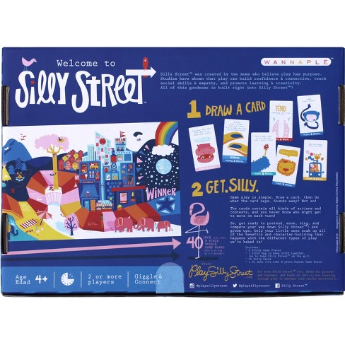 Silly Street Board Game Target