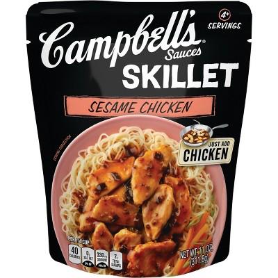 Campbell's Sauces Skillet Sesame Chicken 11oz