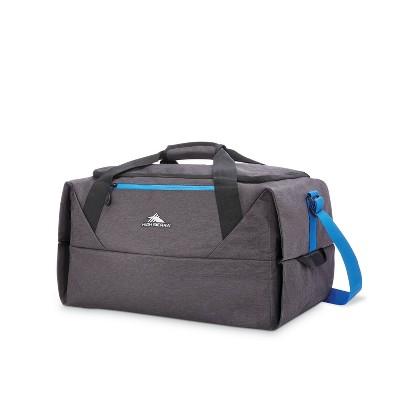 High Sierra 50L Packable Duffel Bag - Gray/Indigo