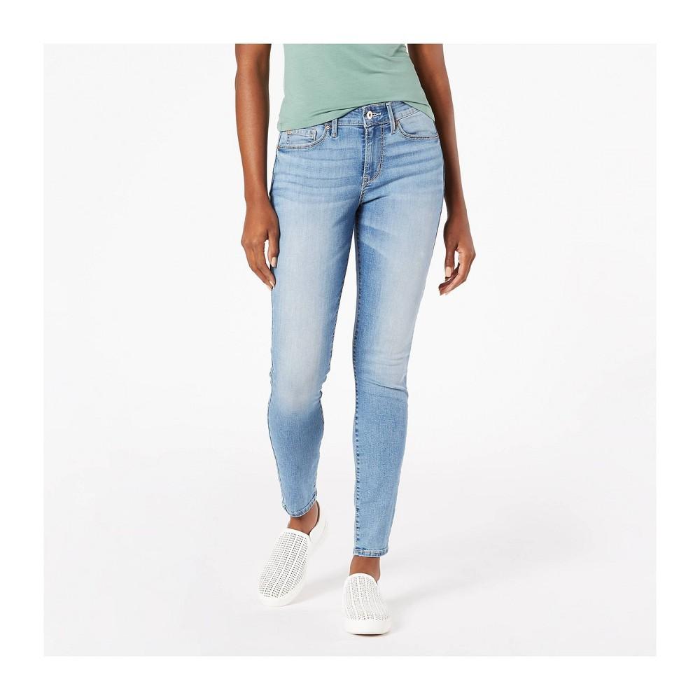 Denizen 174 From Levi 39 S 174 Women 39 S Mid Rise Skinny Jeans Daybreak 16