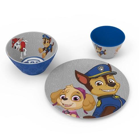 PAW Patrol 5 Piece Melamine Dinnerware Set