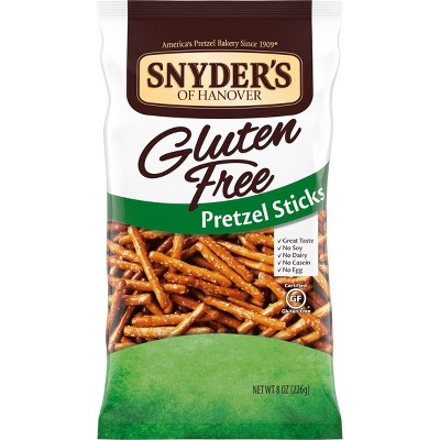 Snyders Gluten Free Plain Pretzel Sticks - 7oz