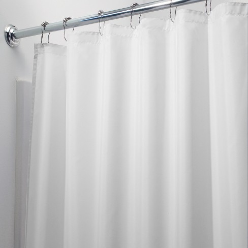 InterDesign Waterproof Polyester Shower Curtain Liner Target