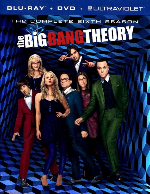 The Big Bang Theory: The Complete Sixth Season [5 Discs] [Blu-ray] - image 1 of 1