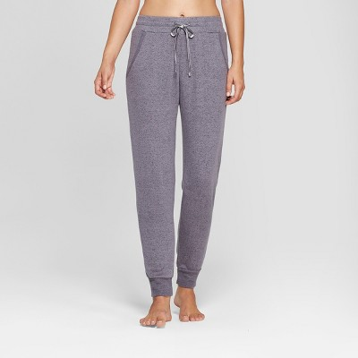 Women's Cozy Jogger Pajama Pants - Gilligan & O'Malley™ Charcoal L