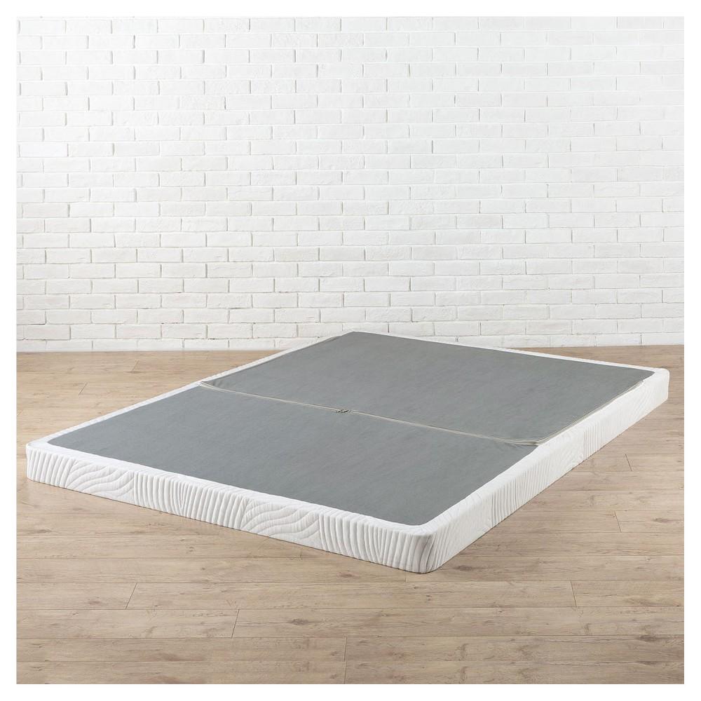 California King Jayanna Steel BiFold Box Spring - Zinus, White