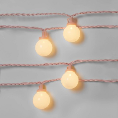 10ct LED Frosted Globes with Wire - Sun Squad™