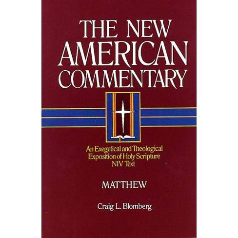 Matthew - (New American Commentary) by  Craig L Blomberg (Hardcover) - image 1 of 1