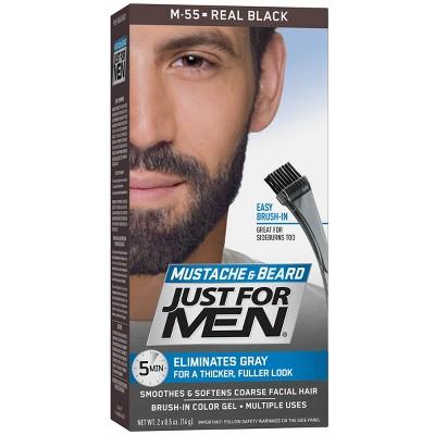 Facial hair coloring